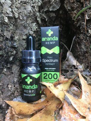 Ananda Hemp 200 mg full spectrum extract
